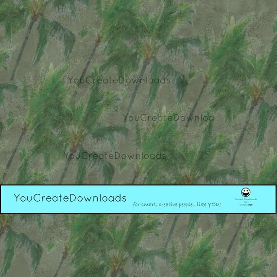 How to Make a Paper Palm Tree Leaf