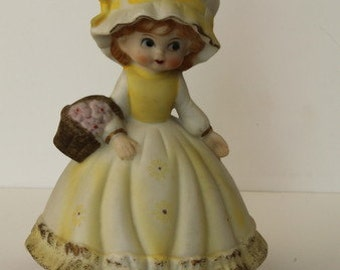 1970s Musical Little Lady Wind-up Music Box