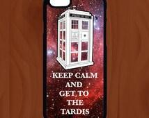Tardis Phone Case - iPhone 6, 6s, 6 Plus, 6s Plus, Samsung  S6, S7 - Dr Who - Keep Calm