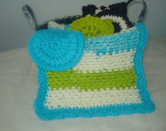 Spa cloth and face scrubby in 100% cotton