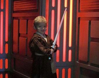 Jedi Costume Star Wars Children's size 2T - 5T