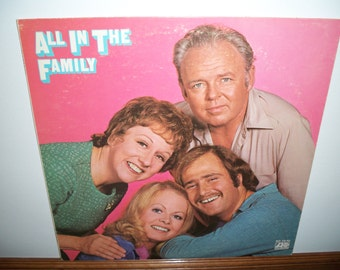 All In The Family - Vinyl LP Record Album