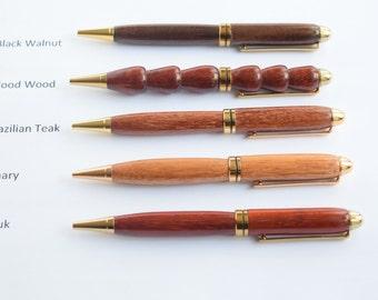 Handmade Wood Pens - Mont Blanc Style Pen -wood pen - handmade pen, hand turned pen - professional pen - Stocking Stuffer - Groomsman Gift