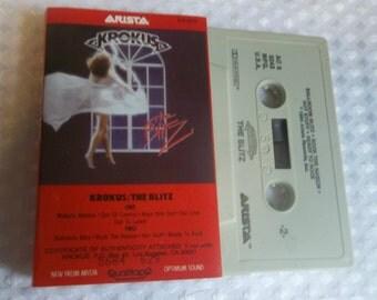 KROKUS The Blitz Cassette Tape 1984 Classic Heavy Metal from Switzerland