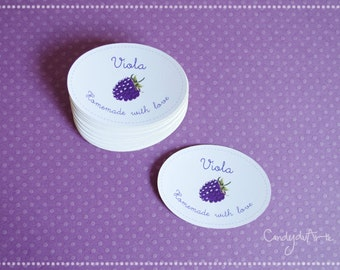 Stickers for baratoli jam-Sticker wedding favor-sticker with personalised design