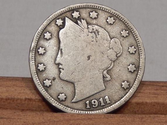 1911 Liberty Head V Nickel Coin