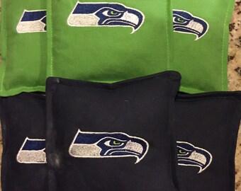 Washington Cornhole bags sets of 10