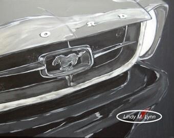 """Print of """"Mustang 1"""""""