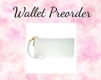 Custom Painted Wallet
