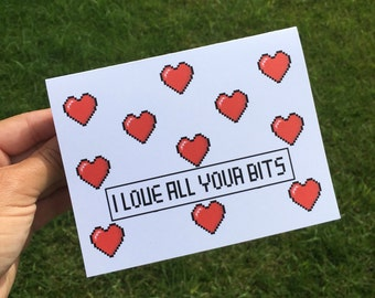 Funny Valentine's Day Card / Funny I love you card / Funny Love Card / Funny Relationship card / Funny Anniversary Card / ldr card / for guy