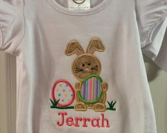 Easter Bunny Shirt / Easter Shirt / Girl Easter Shirt / Toddler Girl Easter Shirt / Infant Girl Easter Shirt / Rabbit Shirt / Bunny Shirt