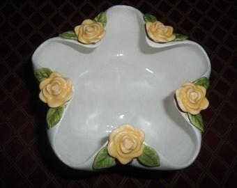 french jardiniere, Planter, Antique, antique jardinière, English Countryside, Vintage Jardiniere, Art Nouveau, majolica vase, Ribbed  Vase
