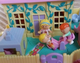 COMPLETE 1994 Nursery School with Polly Tom and Tessa RARE Like New!