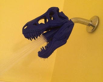 T-Rex shower head, Made in USA, Bring the Jurassic Home