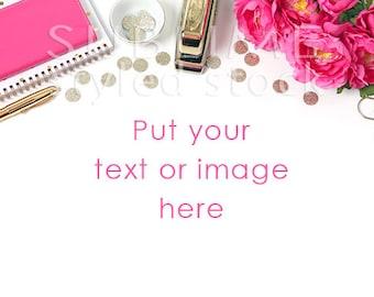 Styled Stock Photography / Styled Desktop  / Office Styled / Mockup / Desk Mockup / Social Media / Instant Download / StockStyle-679