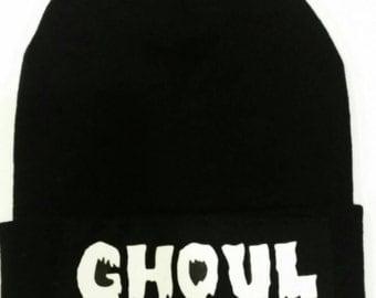 Ghoul beanie/ Halloween clothing