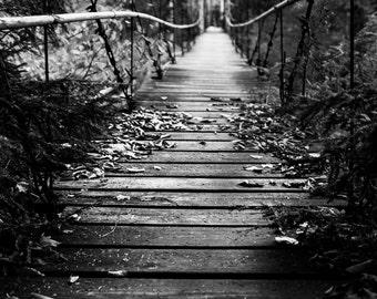 New York Photography, Bridge in the Woods, NY Photography, Upstate NY, Adirondacks Photography,