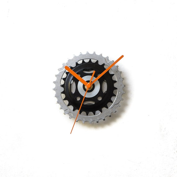 Bike Design Wall Clock : Bicycle wall clock unique bike by clocklight