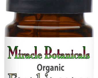 Miracle Botanicals Organic Frankincense Essential Oil - 100% Pure Boswellia Serrata - India.....Free U.S. Shipping