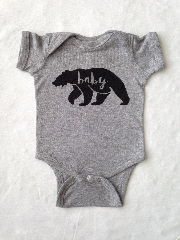 Baby esie Baby Clothes Baby Bear esie
