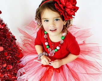Valentine's Day Girl Outfit Headband Red Peony Flower Headband  Layered Flower Headband Baby Headband Flower Headband Flower