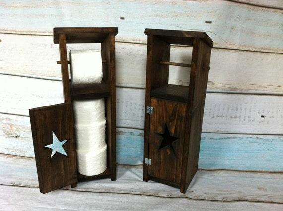 rustic toilet paper holder with storage toilet paper storage. Black Bedroom Furniture Sets. Home Design Ideas
