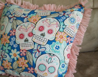 Beautiful Dia de los Muertos Pillow
