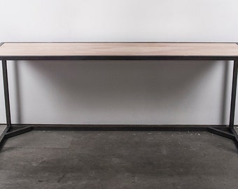 Steel and Birch plywood desk, table, workstation
