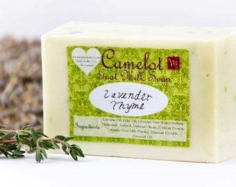 Camelot Goat Milk Soap - Lavender Thyme (4oz)