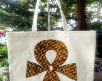 LIMITED EDITION Santi Baby Grown Up Tote/ Egyptian Ankh