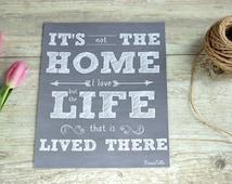 Chalkboard print, decorative chalkboards, rustic home decor, rustic chalkboard print, Home print, Home chalkboard print, Housewarming gift