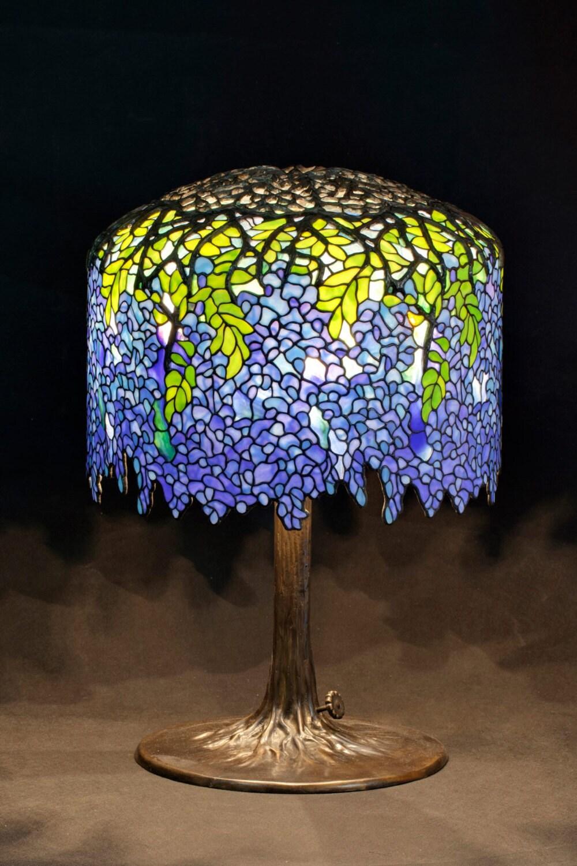 Lampe De Table Tiffany Lampe Tiffany Tiffany Wisteria Lampe