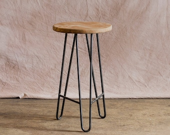 Metal Stool Etsy