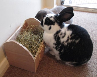 Rabbit Hay Feeder, Feeding Box