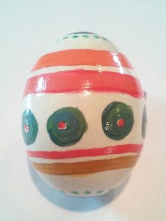 Hand-painted eggs, Desert-scape. decor