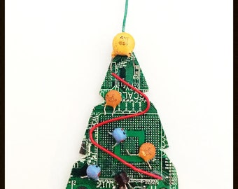 Circuit Tree Ornament