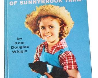 Rebecca of Sunnybrook Farm - Shirley Temple Memorabilia - Childrens Classics - Childrens Books - 1959 First Edition - Kate Douglas Wiggin