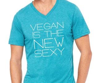 Vegan Unisex V-Neck Tee