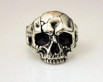Jewelry ring, Jewelry, Ring, rings kull, heavy metal, gothic, black, biker ring, handmade ring, gothic ring, gift, goth,biker