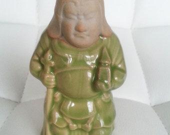Japanese Netsuke,  Laughing Hotei/Buddha, Ebisu, Daikoku, Benzaiten, Bishamon, Fukurokuju, Jurôjin, vintage,  Gods of happiness and fortune