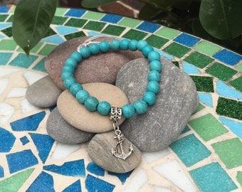 Ladies turquoise bracelet