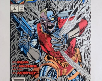 Deathlok No.1 Marvel Comic Book Collectable,Deathlok Collectable,Vintage Marvel Comic Collectable,Deathlok 1