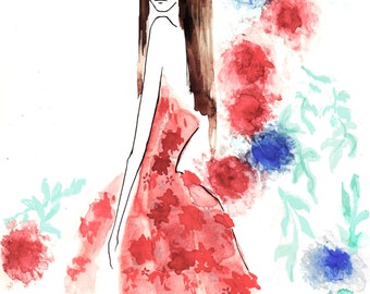 Zuhair Murad Spring Couture 2016 Fine Art Print