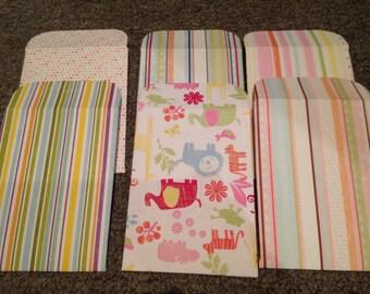 Pack of 6 Handmade envelopes
