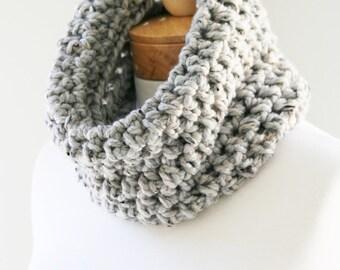 Chunky Neck Warmer, The Snugg, Chunky Cowl, Handmade Scarf, Chunky Knit Infinity, Circle Scarf