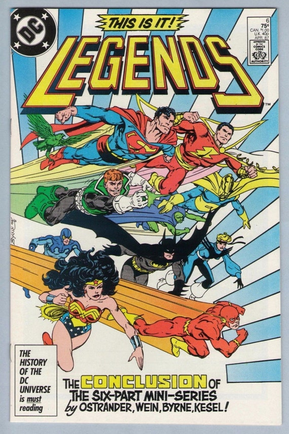 Legends 6 Apr 1987 NM- (9.2)