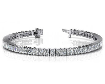 4 Carat Diamond Tennis Bracelet - Gifts - Diamond Tennis Bracelets for Women - Raven Fine Jewelers - Bracelets for Women, Black Friday Deals