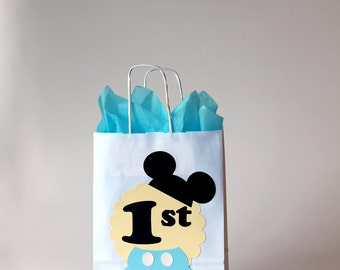 Mickey birthday decorations Mickey Mouse birthday banner 1st