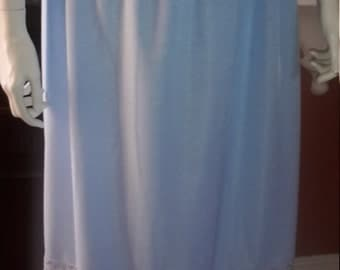 Plus Size Blue Half Slip/Under Skirt Size L UK Dress size 24/26