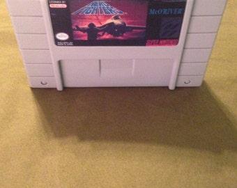 SALE! Aero Fighters Reproduction Super Nintendo Nintendo SNES Game. 16 bit Works on Retron 5!